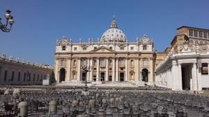 Saint Pierre de Rome - exterieur